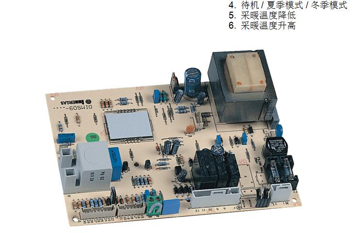 前铎壁挂炉电路板b10d接线图