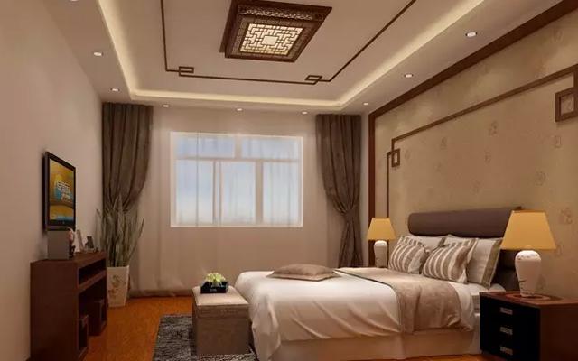 背景墙 房间 家居 酒店 设计 卧室 卧室装修 现代 装修 640_400