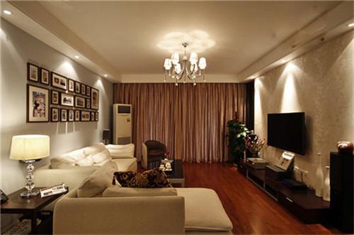 房两厅房子装修满足了业主对家居环境的浪漫需求.-小户型装修案例