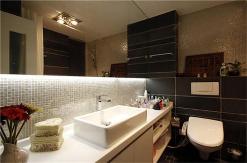 小户型装修案例 95平米简欧三房