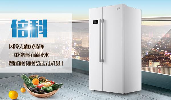 倍科 对开门冰箱 186210e