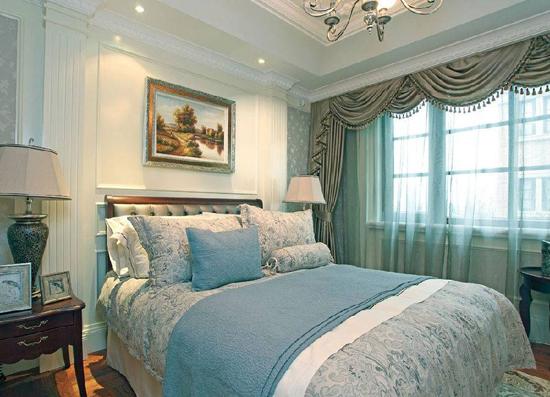 床头欧式背景墙弧形