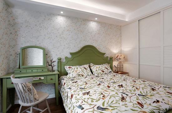 卧室装修效果图-上海室内装修学徒