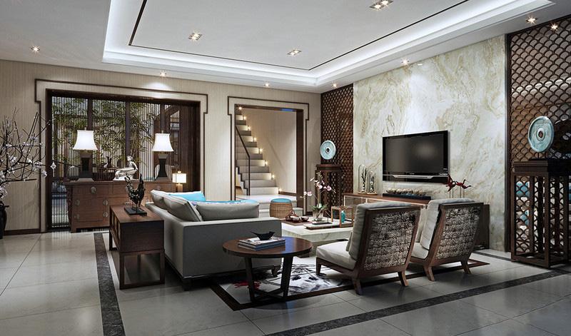 中式风格客厅家具搭配