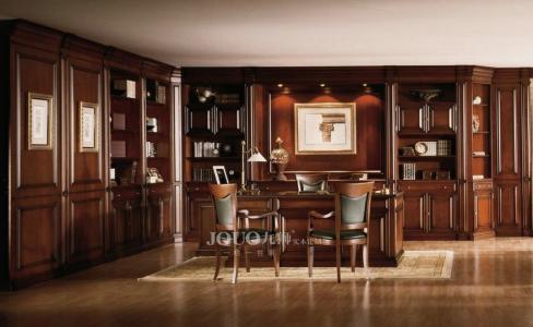 定制实木书柜好不好?