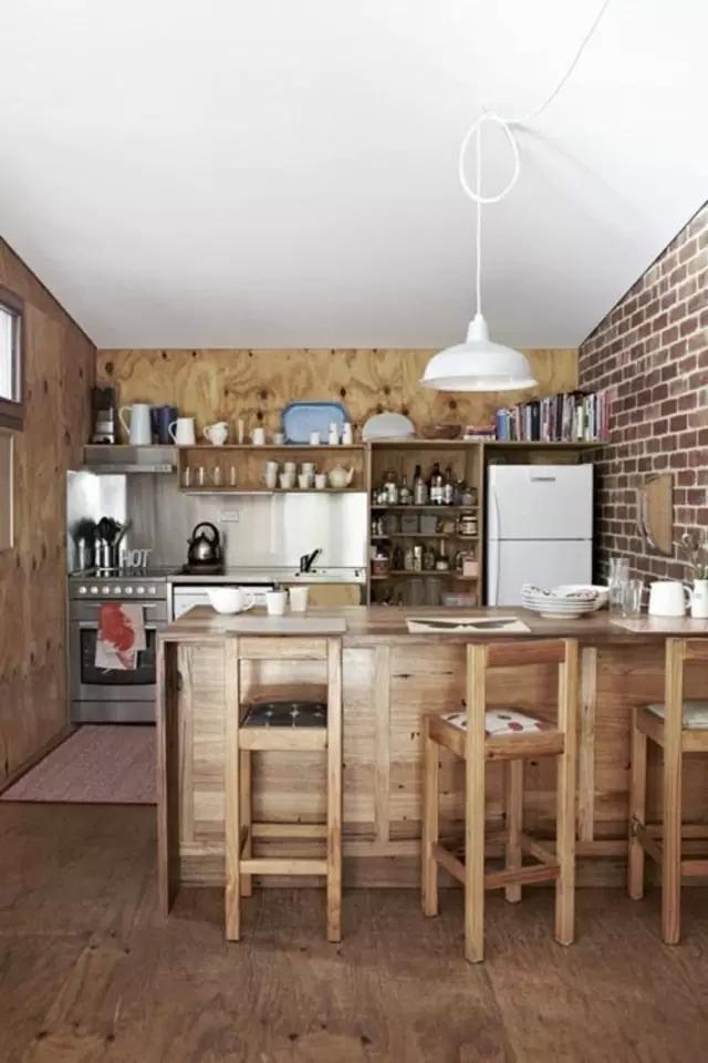 开放式厨房的n种设计方案