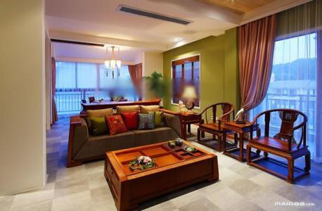 中式客厅沙发摆放的风水禁忌