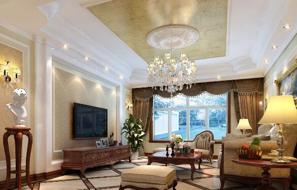 客厅吊顶也是个不容忽视的环境,吊顶的颜色应该和壁纸统一,不然会导致客厅不美观哦,那么,客厅吊顶设计技巧有哪些?华夏家博来给大家讲讲客厅吊顶设计技巧有哪些,详细内容下面一起来看看。  1、因为朝北方向的客厅是没有阳光照射的,所以在选择客厅壁纸颜色时,建议选择更倾向于暖色系的壁纸,它颜色度浅,更温馨。比如用一些精致图案的壁纸(清香淡雅的花鸟草等多元素)打底,不但稳重的纯色衬托,也呈现了主人良好的品位。 2、朝南方向的客厅日照时间最长,客厅壁纸可以使用冷色调,让人感到更舒适,房间迷人指数也是不断攀升。想要营造优